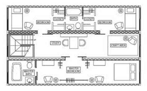 shipping container bunker floor plans studio design