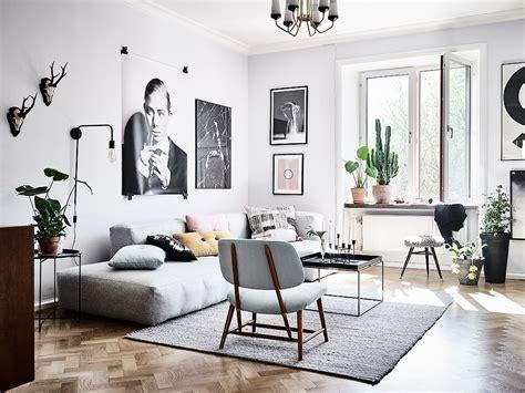 home inside design warszawa woonkamer met een mix van scandinavische en vintage meubels inrichting huis com