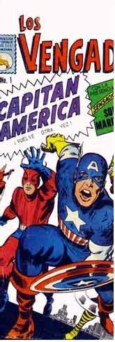 los invencibles de amrica 8494392328 los vengadores index spanish mexican comics editorial la prensa comics