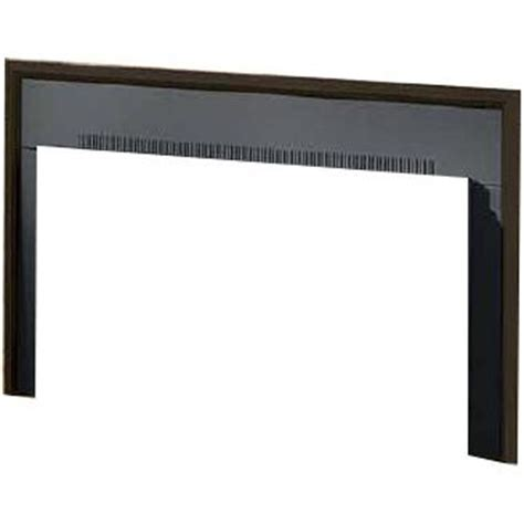 Gas Fireplace Trim Kits by Napoleon Three Sided Painted Black Trim Kit