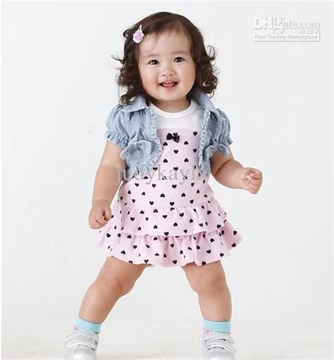 Dress Baby 3 In 1 1 year baby clothes bbg clothing