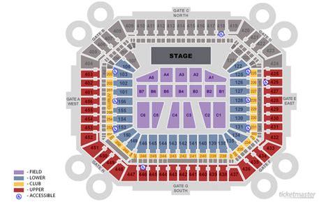 jazz in the gardens seating chart sunlife stadium platinum vip tickets