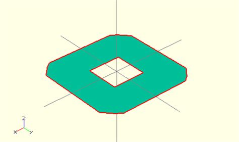 openscad color openscad user manual 3d to 2d projection wikibooks open