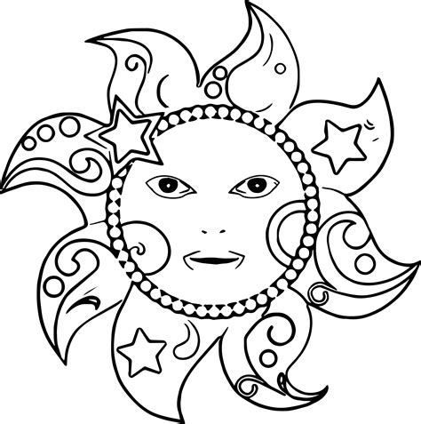 small sun coloring page small sun coloring happy coloring coloring pages