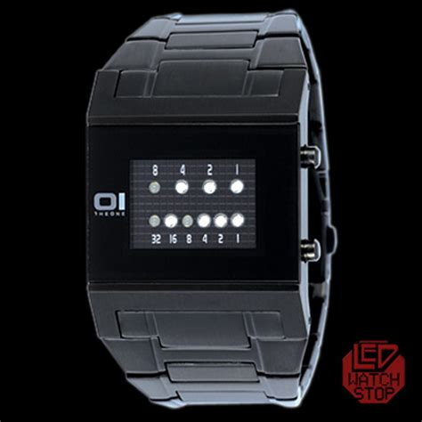 The #1 Cool Binary Watch Selection in the World! Unique LED Watches Galore.   LED Watch Stop