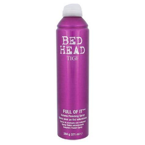 bed head spray tigi bed head full of it volume finishing spray 371 ml