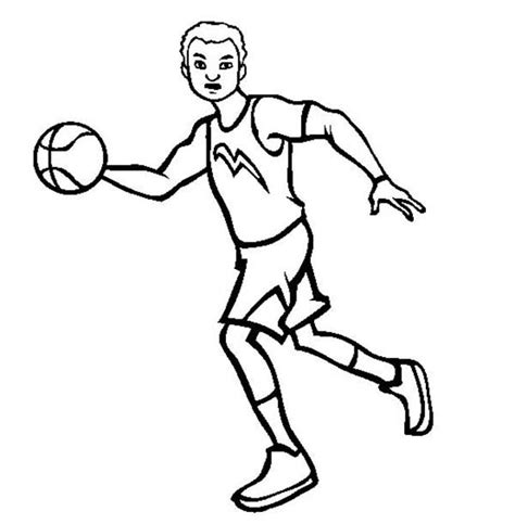 Pro Basketball Coloring Pages | batch coloring