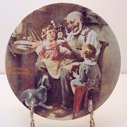 Kitchen Collections Store norman rockwell plate collections