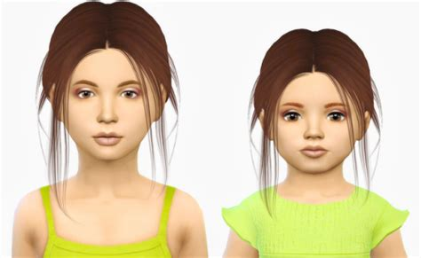 the sims 4 hair for female kids the sims resource child sims 4 nexus