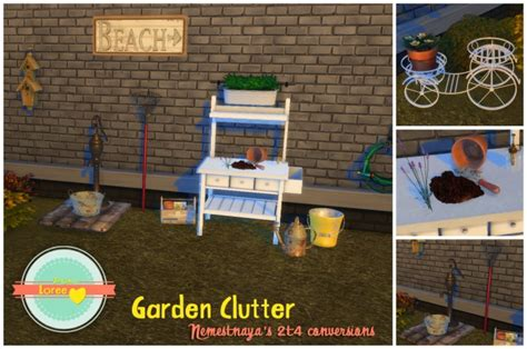 office clutter sims 4 cc garden clutter at loree 187 sims 4 updates