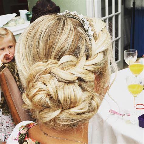 Wedding Hairstyles Braided Side by Braided Side Bun Wedding Hair Wedding Hair Styles