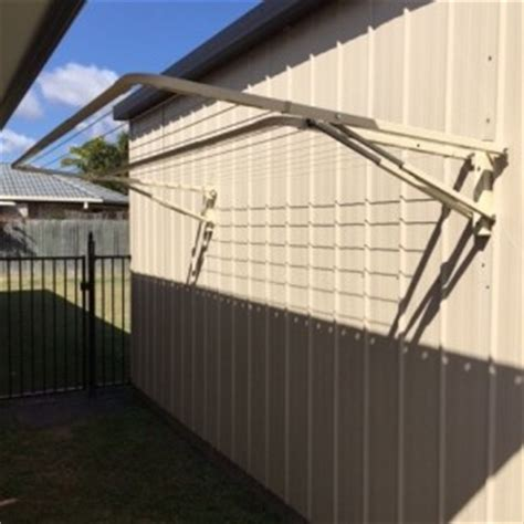 Folding Shed by Clothesline Installation Caboolture Clothesline Specialists
