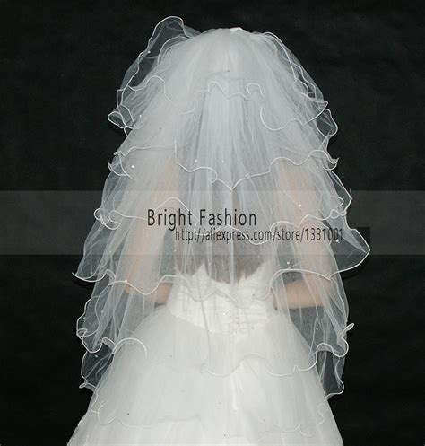 Handmade Wedding Veils - muslim wedding veil promotion shop for promotional muslim