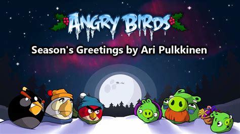 angry birds seasons new year theme angry birds seasons greetings theme original