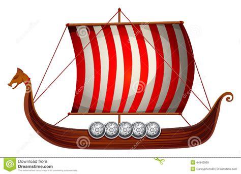 viking longship template longboat clipart clipground