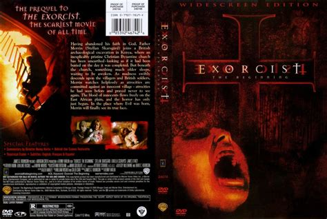film exorcist the beginning exorcist the beginning movie dvd scanned covers