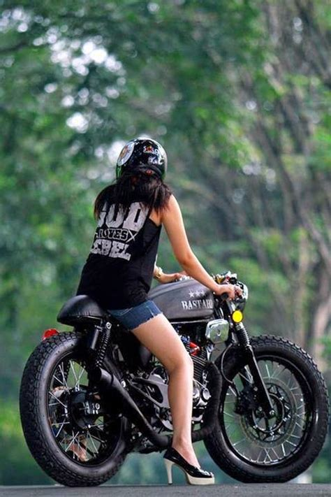 Kaos C70 Modification modifikasi motor keren ala custom bike asal