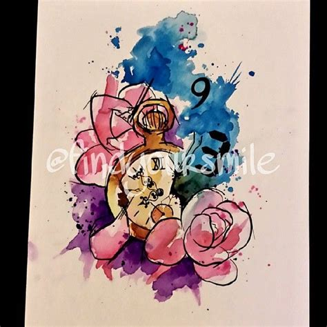 watercolor tattoo watch 1000 images about tats on watercolors