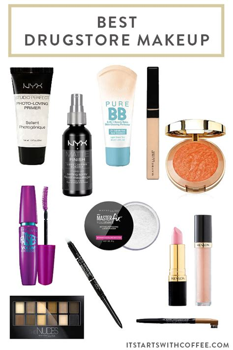 makeup drugstore best drugstore makeup it starts with coffee by