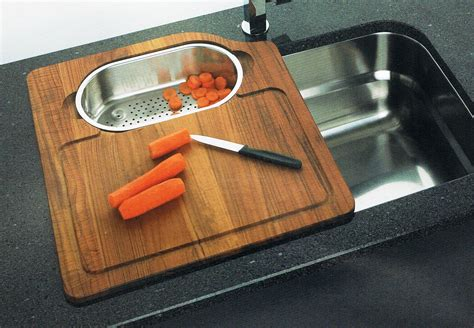 cutting board for undermount sink undermount stainless steel single bowl sinks