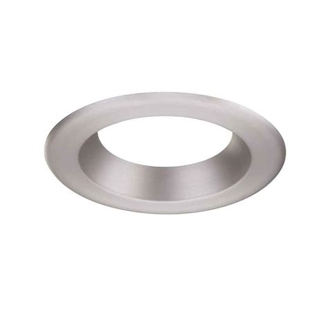 envirolite 6 in decorative brushed nickel trim ring for