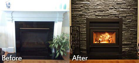 Fireplace Transformation by Fireplace Installations Charlottesville Richmond Va