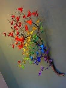 Origami Crane Tree - 1000 images about origami crane on
