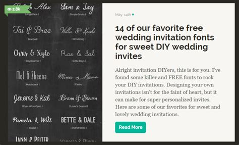 what invitation design software should i use for my diy wedding invitations offbeat