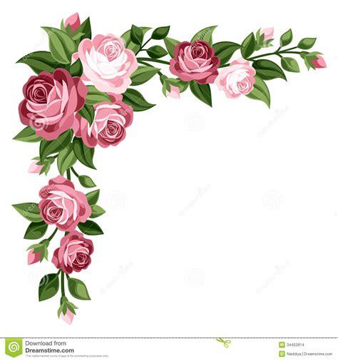 imagenes vintage en rosa rosas capullos de rosa y hojas rosados del vintage
