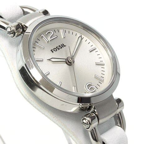 s watches gorgeous fossil white leather