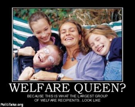 How To Collect Welfare Meme - white welfare queen bing images