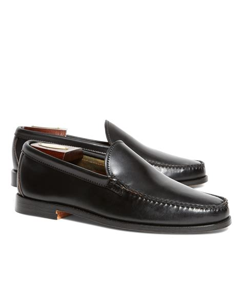 cordovan loafer brothers rancourt co cordovan venetian loafers