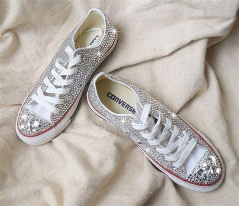Hochzeit Schuhe Sneaker by Silber Kristall Bling Sneaker Schuhe Hochzeit Sneaker