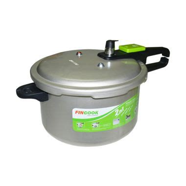 Panci Presto Merk Fincook jual fincook soft anodized pressure cooker pc9003sas white