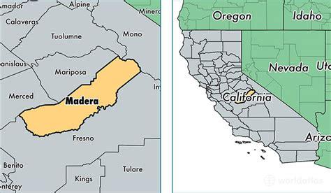 madera california map madera county california map of madera county ca