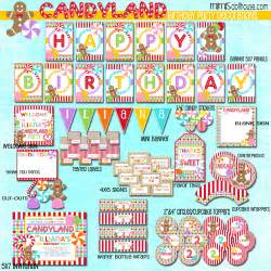 Mickey And Minnie Mouse Birthday Party Decorations Candy Land Display File Mimi S Dollhouse