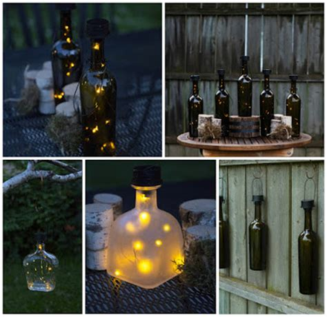 Shelley B Decor And More Solar Twinkling Wine Bottle Lights Solar Powered Bottle Lights