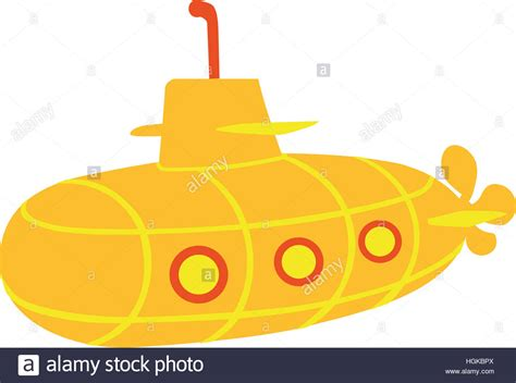 cartoon boat cut out submarine boat cut out stock images pictures alamy