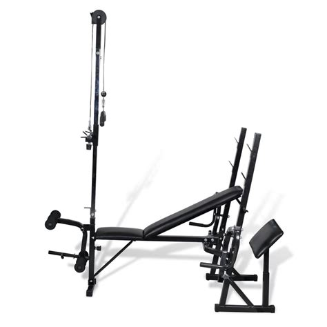 bench gym vidaxl co uk fitness workout bench home gym