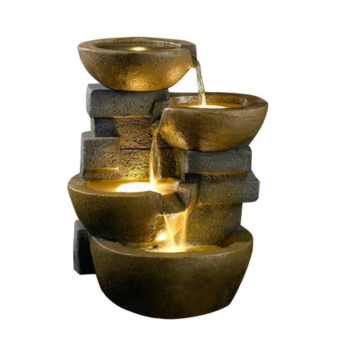 kontiki water features decorative pot fountains pots