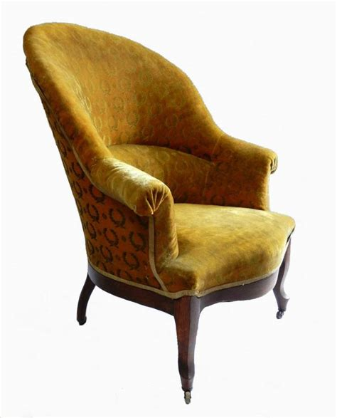 Slipper Armchair empire louis philipe slipper chair armchair to