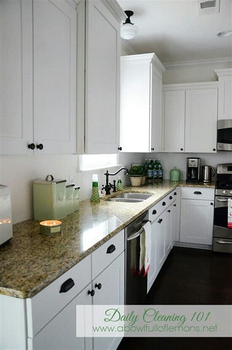 Briarwood Cabinets White Cabinets Black Knobs House Pinterest