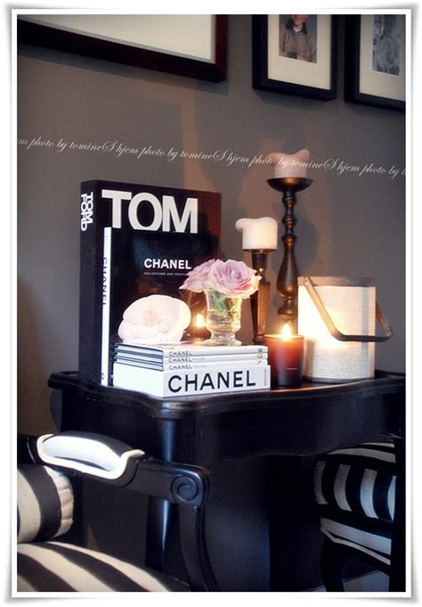 Chanel Books Prop Identity Pinterest Tom Ford Chanel Coffee Table Book