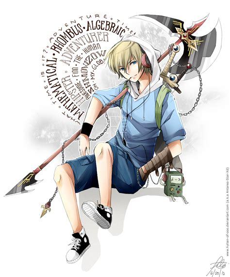 anime adventure finn the human adventure time image 1170356