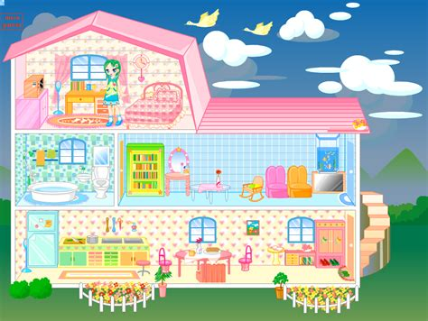 house decorating games doll house games decorate images