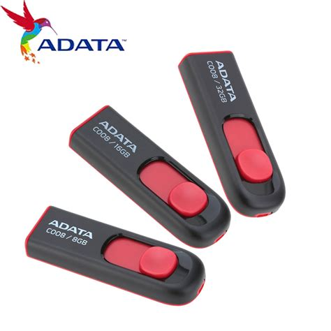 Flashdisk Adata C008 16gb White adata flash memory promotion shop for promotional adata