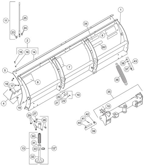 western snow plow parts diagram western uni plow wiring diagram western get free image