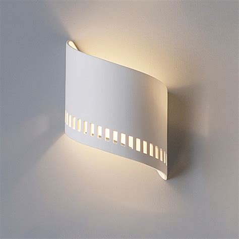 Modern Sconce Light Fixtures 9 Quot Ceramic Ribbon Sconce W Contemporary Pattern Contemporary Ceramic Interior Wall Sconces