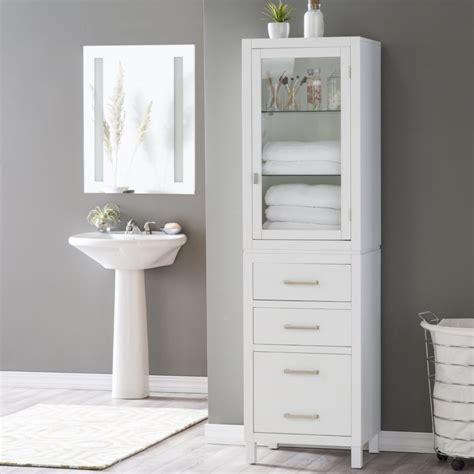 Narrow White Bathroom Cabinet by Narrow White Bathroom Cabinet