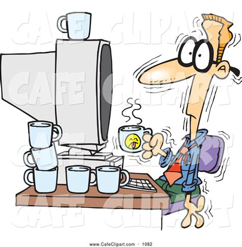 cartoon drinking cartoon sipping coffee pictures to pin on pinterest